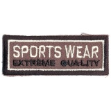 Thermocollant badge sports wear 1,5 x 6 cm - 408
