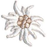 Thermocollant fleur 3,5 x 3 cm - 408