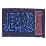 Thermocollant jeans 8,5 x 5,5 cm - 408