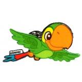 Thermocollant oiseau 4 x 8 cm - 408
