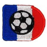 Thermocollant ballon sur drapeau 4 x 3 cm - 408
