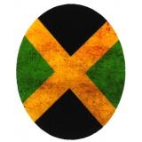 Coude drapeau jamaika 10 x 8 cm - 408