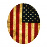 Coude drapeau americain 10 x 8 cm - 408