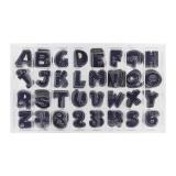 Coffret lettres et chiffres Jeans - 408