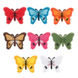 Thermocollants papillons assortiment - 408