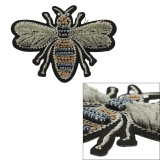 Thermocollant abeille effet velours 7x5,5 - 408