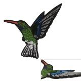 Thermocollant colibri 13x8,5cm - 408