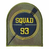 Thermocollant et autocollant squad 93 6,5x8cm - 408