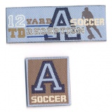 Thermocollant soccer 2 x 5 cm - 408