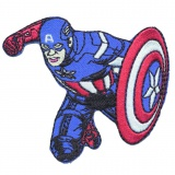 Thermocollant avengers captain america 5 x 7,5 cm - 408