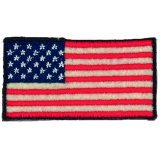 Thermocollant american flag 3 x 6 cm - 408