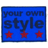 Thermocollant your own style 5 x 6 cm - 408
