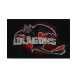 Thermocollant dragons 10 x 6,5 cm - 408