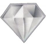 Thermocollant et autocollant diamant 5,5cmx4,5cm - 408