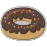 Thermo et autocollant donut 5,5 x 4 cm - 408