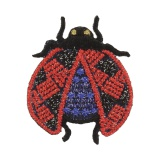 Thermocollant coccinelle 3,5x4cm - 408