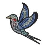 Thermocollant oiseau 8x5,5cm - 408