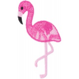 Thermocollant flamant rose 10x3,5 - 408
