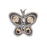 Papillon strass - 408