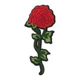 Thermocollant fleur (une fleur) 18 x 8 cm - 408