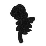 Thermocollant fleur+perles - 408
