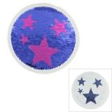 Motif paillette réversible étoile - 408