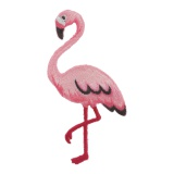 Thermocollant flamant rose 8x4,5cm - 408
