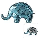 Décoration éléphant paillettes réversibles - 408