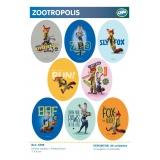 Présentoir thermocollant zootropolis coude - 408