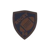 Rugby thermocollant simili cuir 3,8x4cm - 408