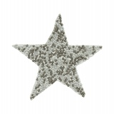 Thermocollant étoile perles 8cm - 408