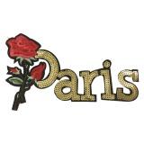 Thermocollant fleur+paris 24x14cm - 408