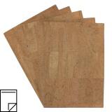 Feuille de liège adhesive 21x29,7cm - 408