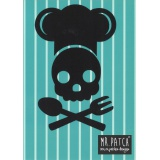 Patch thermocollant skull chef - 408