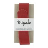 Anse de sac Miyako en cuir rouge - 408