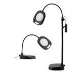 Lampe Loupe LED sur pied noire - 416