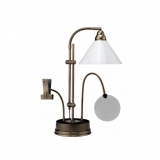 Lampe prestige s/socle de table antique - 416