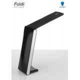 Lampe foldi led gris métal/noir - 416