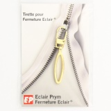 Tirette élipse finition laiton - 42