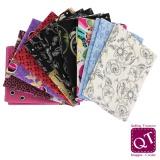 10 coupons assortis Quilter's Treasure 45 x 55cm