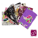 7 coupons assortis Quilting Treasure 45 x 55cm