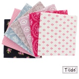 7 coupons assortis Tilda 45 x 70 cm