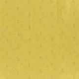Tissu double gaze banane fleurs argent - 44