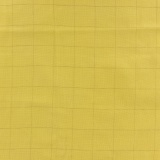 Tissu double gaze banane carreaux or - 44