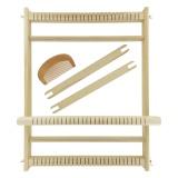 Métier à tisser en bois 28 fils (39 x 30 x 3 cm) - 444