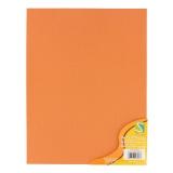 Feuille autocollante x3 orange - 452
