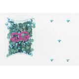 Cristal domestuds bleu ss16 (288) - 452