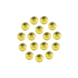 Cristal cabochons citrine ss16 (72) - 452