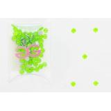 Cristal neon vert cabochons 4 mm (72) - 452