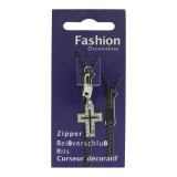Tirette zip crucifix - 452